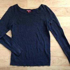 Spring Sweater Navy Blue